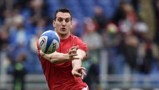 Wales captain Sam Warburton is ready for battle in Saturday's World Cup clash against England