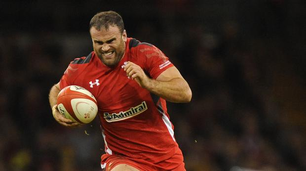 Wales centre Jamie Roberts, pictured, faces a blockbusting battle with England midfield newcomer Sam Burgess