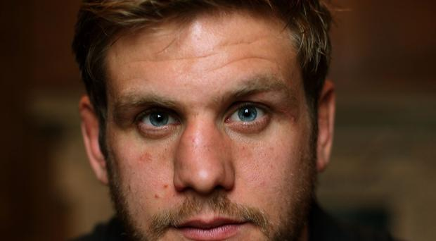Chris Henry, pictured, will make his full World Cup debut in Ireland's clash against Romania on Sunday
