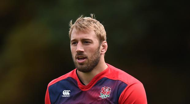 Graham Rowntree has tipped Chris Robshaw, pictured, to become one of the best leader's England has ever had