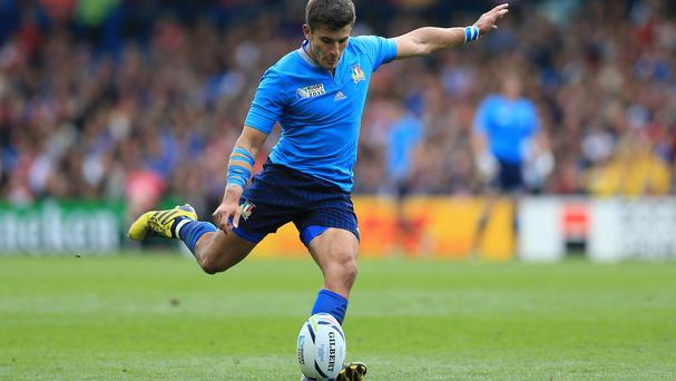Italy's Tommaso Allan made some crucial kicks to deliver victory against Canada