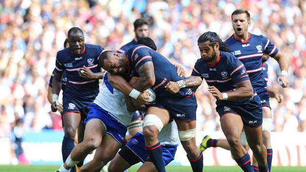 The United States are looking to bounce back from last week's World Cup defeat to Samoa