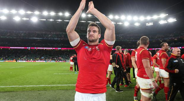 Wales captain Sam Warburton saluted his side's courage after a famous victory at Twickenham