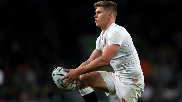 Owen Farrell agreed with the decision to go for touch but would have backed himself to kick penalty