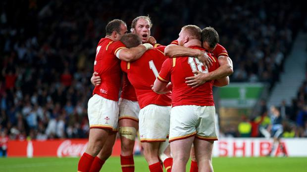 Wales came from 10 points behind in the second half to defeat England.