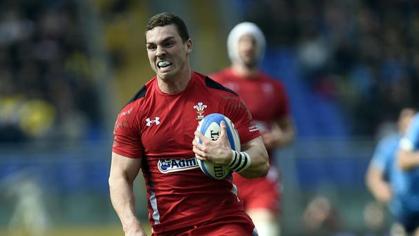 Wing George North could find himself as a centre option for Wales head coach Warren Gatland in remaining World Cup pool games against Fiji and Australia