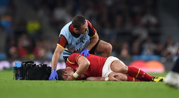 Scott Williams is a major doubt for Wales