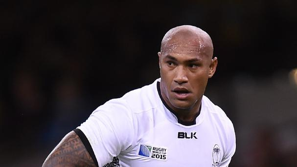 Fiji will be without the suspended Nemani Nadolo for Thursday's World Cup clash against Wales