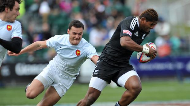 Waisake Naholo will make his World Cup debut on Friday