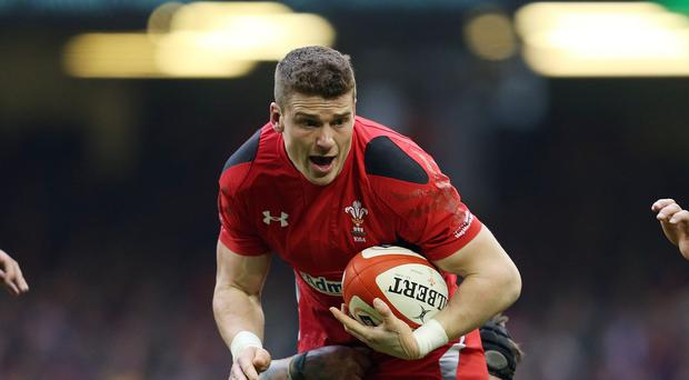 Injured Wales centre Scott Williams, who will be replaced in midfield by Tyler Morgan against World Cup opponents Fiji on Thursday