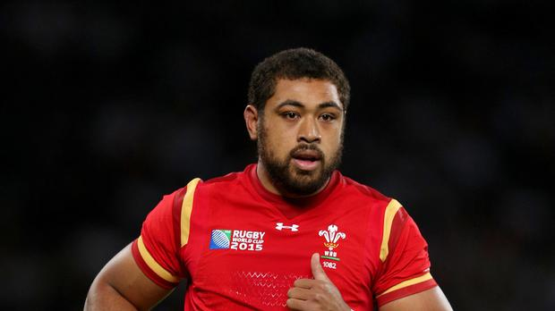 Number eight Taulupe Faletau was winning his 50th cap for Wales in their World Cup pool match against Fiji.