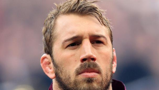 England captain Chris Robshaw walks his dog to get away from the pressure of big games