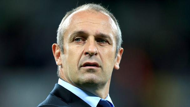 France head coach Philippe Saint-Andre wants his side to finish top of Pool D