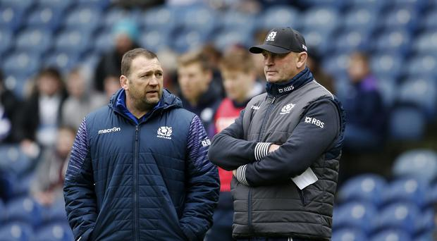 Scotland assistant coach Jonathan Humphrey (left) insists Vern Cotter is right to ring the changes ahead of facing South Africa