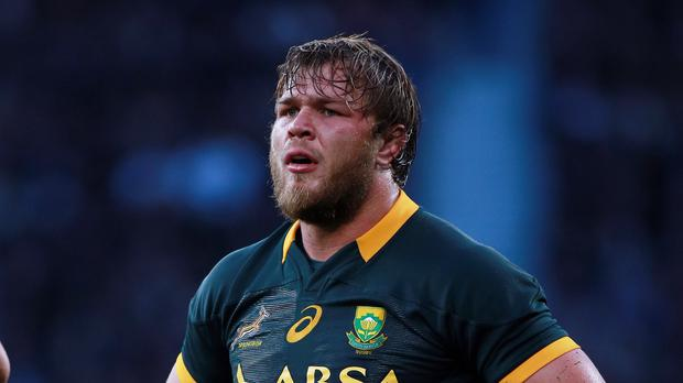 South Africa's Duane Vermeulen bears no hard feelings to Scotland's Springbok converts Josh Strauss and WP Nel