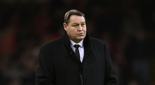 New Zealand head coach Steve Hansen expressed satisfaction at his team's progress into the World Cup quarter-finals