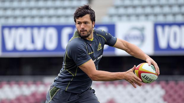 Wing Adam Ashley-Cooper helped Australia to a convincing World Cup victory over England at Twickenham