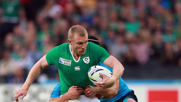 Keith Earls scored a try as Ireland beat Italy 16-9 at the Olympic Stadium.