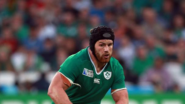 Sean O'Brien, pictured, believes Ireland must steel themselves for a brutal encounter against France in Cardiff