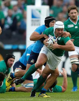 Big step: Rory Best was pleased with the win