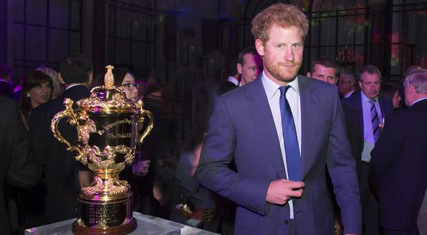 Wales are hoping to have Prince Harry's support in the knockout stages