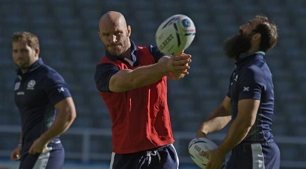 Alasdair Strokosch is focused on victory over Samoa