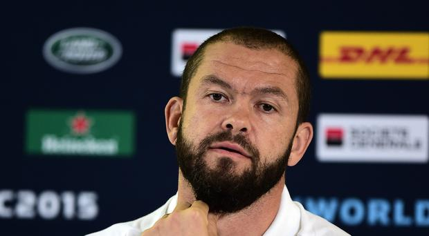 England's Andy Farrell says head coach Stuart Lancaster has had the final say on player selection