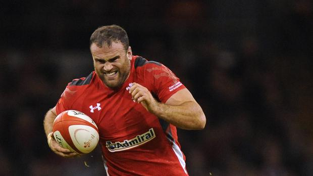 Wales centre Jamie Roberts is relishing tackling Australia in Saturday's Pool A decider at Twickenham