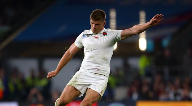 Owen Farrell was selected at fly-half for England's crucial World Cup matches against Wales and Australia