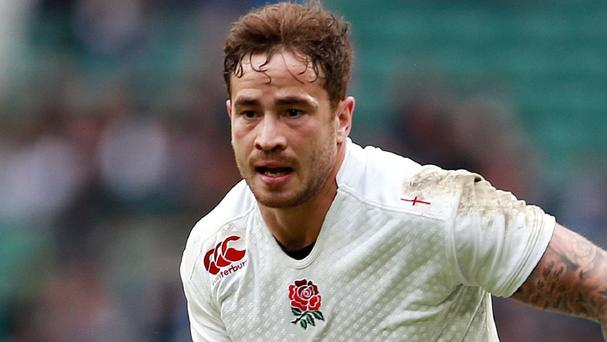 Danny Cipriani was left out of England's World Cup squad