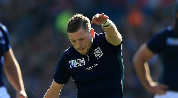 Finn Russell is fit to play for Scotland against Samoa