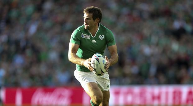 Ireland's Jared Payne has been ruled out of the World Cup