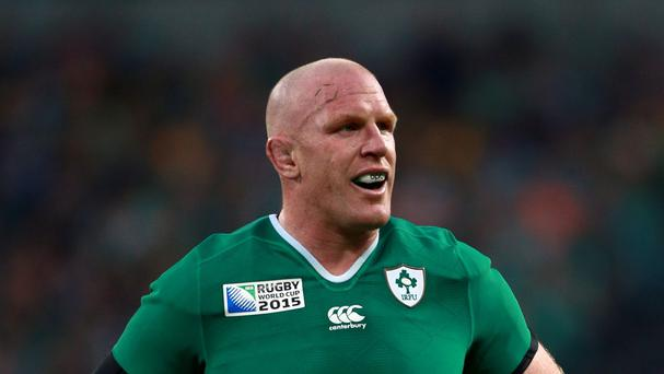 Paul O'Connell, pictured, insists Ireland have not held back new set plays to unleash on France