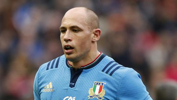 Sergio Parisse will be conspicuous by his absence for Italy's World Cup clash with Romania