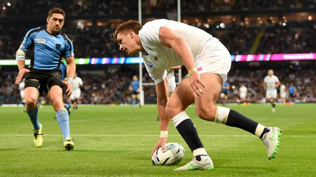 Henry Slade made the most of his opportunity