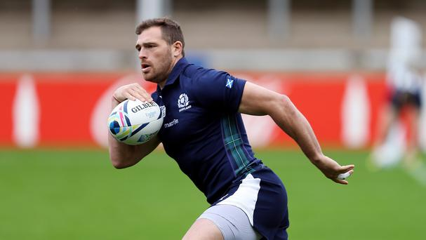 Sean Lamont is celebrating 100 appearances for Scotland