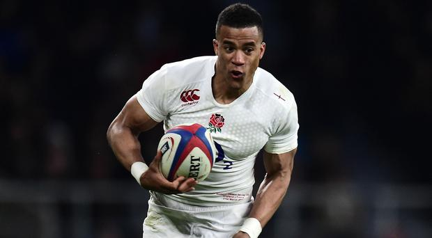 Wing Anthony Watson was the one England player to deliver consistent high-class displays