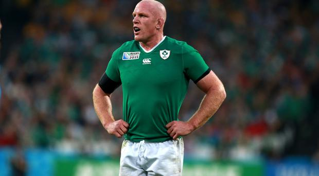 Paul O'Connell, pictured, will be near-impossible to replace in Ireland's World Cup ranks