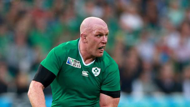 Robbie Henshaw hailed Paul O'Connell, pictured, as much for his sense of humour as his steely focus