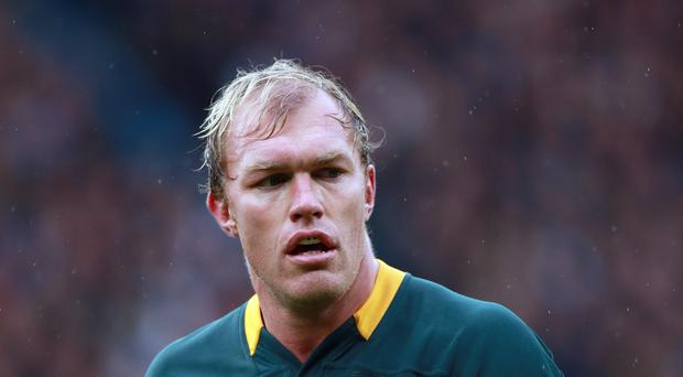 Schalk Burger's South Africa have taken over England's training base