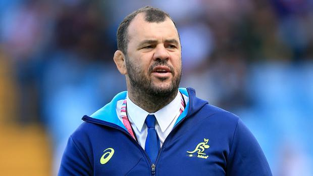 Australia head coach Michael Cheika, pictured, has sympathy for banned Scotland forwards Ross Ford and Jonny Gray