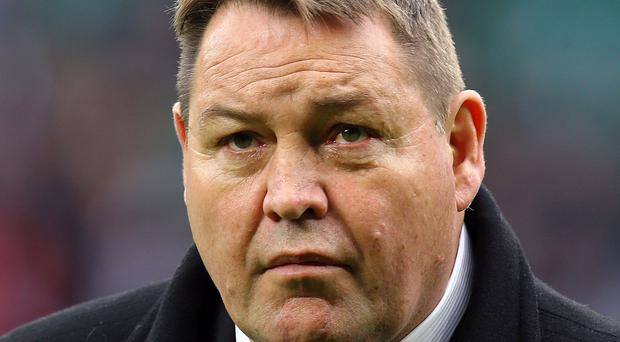 New Zealand boss Steve Hansen, pictured, might have strained relations with France ahead of Saturday's World Cup quarter-final