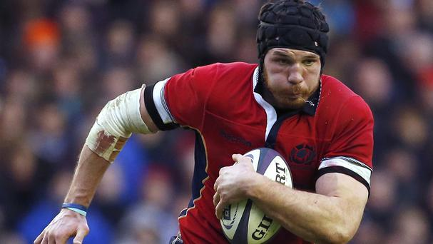 Tim Swinson has been called up by Scotland to face Australia in Sunday's Rugby World Cup quarter final