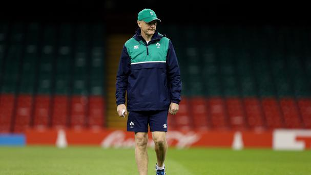 Joe Schmidt, pictured,