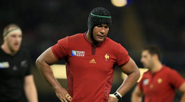 Thierry Dusautoir, pictured, has refused to address whether he will retire from Test rugby after France's 62-13 defeat to New Zealand at the World Cup