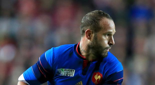 Frederic Michalak has hung up his international boots