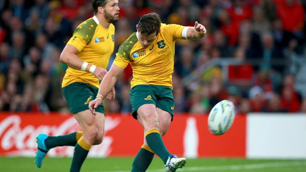 Bernard Foley's late penalty put Australia through to the World Cup semi-finals