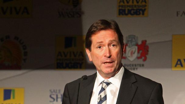 Premiership Rugby chief executive Mark McCafferty