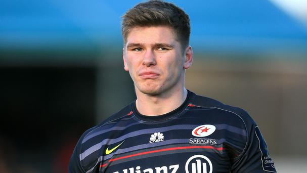 Owen Farrell secured the win for Saracens