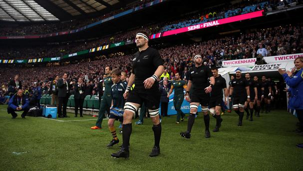 New Zealand captain Richie McCaw may be cited for his elbow on South Africa's Francois Louw